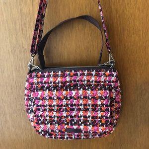 Vera Bradley Carson Shoulder Bag Houndstooth NWOT